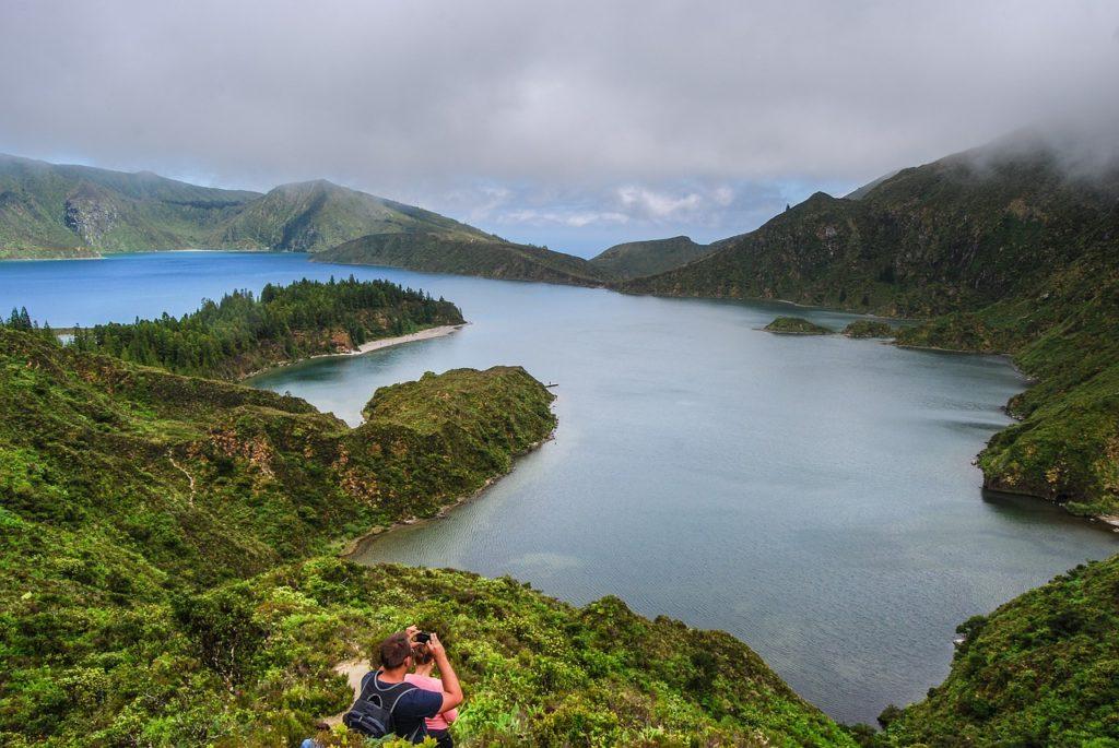 Azores lagoon