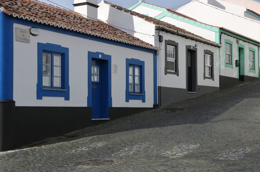 Houses on Terceira